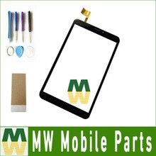 """1 PC/Lot 8.0 """"Pour Prestigio MultiPad wize 3508 4G PMT3508 Noir Couleur Écran Tactile de Remplacement avec des outils + bande"""