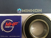 FREE SHIPPING 2pc 6206 2RS MHF GCr15 Deep Groove Ball Bearing ABEC 3 Size 30x62x16 Mm