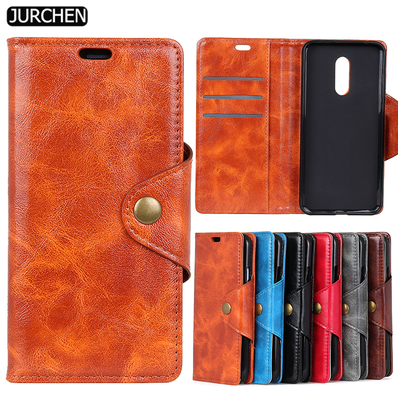 JURCHEN Case For Xiaomi Redmi 5 Plus Phone Case Silicone Wallet PU Leather Flip Back Cover For Xiomi Redmi 5 Plus Case Coque