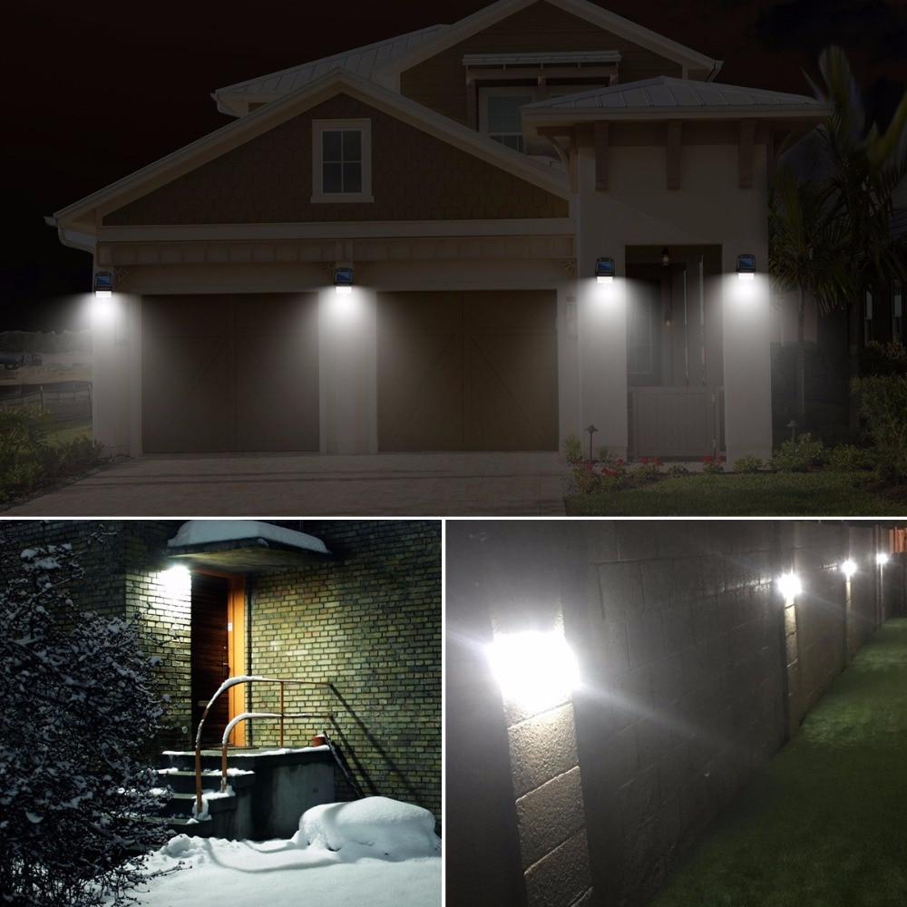 led lamp 2835 solar led light outdoor waterproof spot solaire terrasse 15 leds pir motion sensor bulb for garden yard pathway in led bulbs tubes from - Spot Led Terrasse