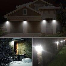 LED Lamp 2835 solar led light outdoor waterproof spot solaire terrasse 15 leds pir motion sensor bulb for garden yard pathway