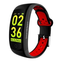 Q6S Smart Bracelet Blood Pressure Heart Rate Monitor Smart Wristband 3D dynamic UI Drop Shipping
