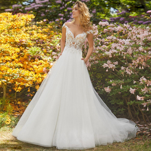 Liyuke Married A-line Wedding Dress Court Train