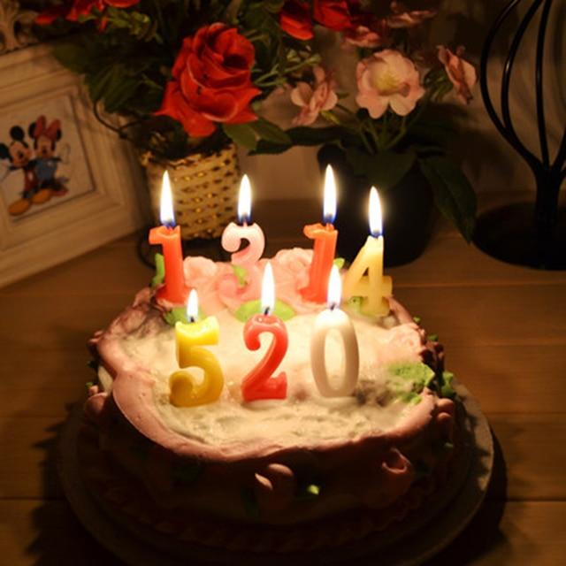 Kreative Partei Kerze Kuchen Kinder Romantische Kerze D Coratives