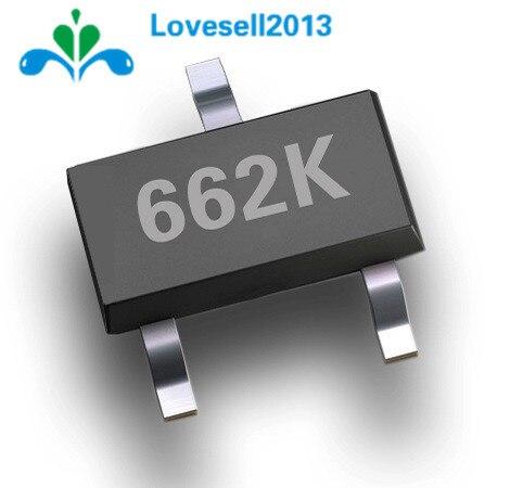 20pcs Free Shipping XC6206P332MR 662K XC6206 3.3V/0.5A Positive Fixed LDO Voltage Regulator SOT-23 New Original