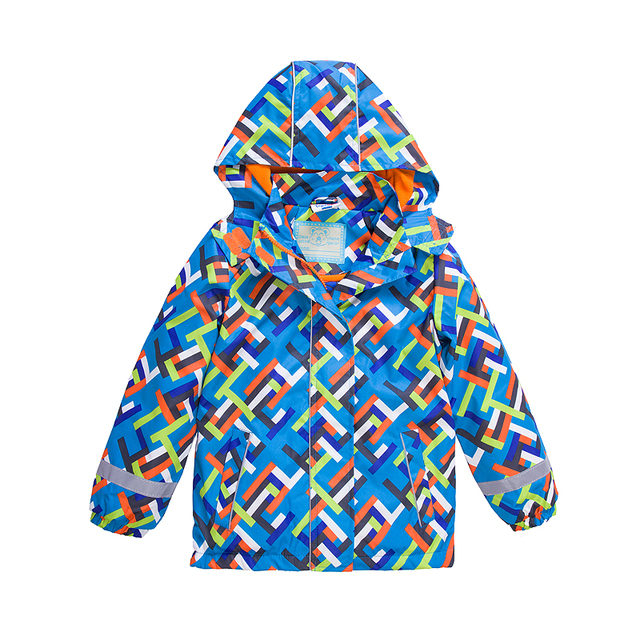 a3e6534888af Waterproof Index 5000mm Windproof Baby Boys Girls Jackets Warm Child ...