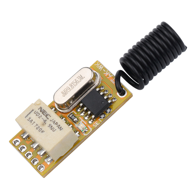 التتابع اللاسلكية التبديل التحكم عن بعد قابل للتعديل مايكرو استقبال الطاقة LED مصباح تحكم لحظة تبديل مزلاج أحدث