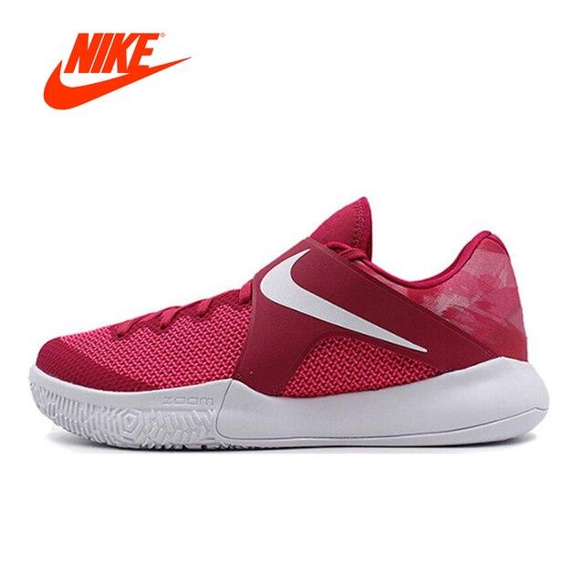 Original Nouvelle Arrivée Officiel NIKE Zoom En Direct Hommes de  Basket-Ball Chaussures Chaussures Sneakers