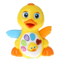 LOVELY Musical Duck Toy Lights Action With Adjustable Sound Toys For Kids Baby M15