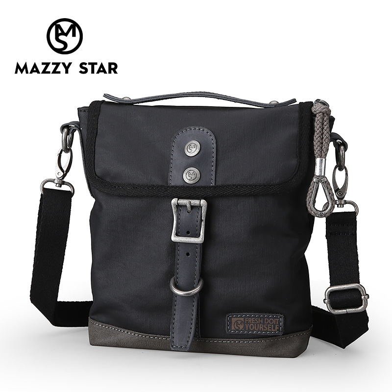 Mazzy Star Shoulder Bag Men s Korean Trend Messenger Bag Fashion Young Leisure  Retro Tote Bag Hot Selling MS 010 f49f5955c3606