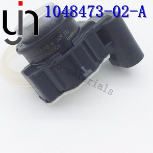 10 шт. PDC Датчик помощи при парковке автомобиля подлинный 1048473-00-A 1048473-01-A 1048473-02 0263033326 для 70 S 90 S P90D с кольцами бампер