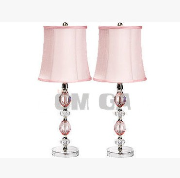 Princess Crystal Table Lamp Child Fashion Bedside Living Room Lamps Lighting Hot