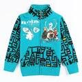 Куртки для мальчиков мода зима молния верхняя одежда мальчик Пальто детские куртки одежда младенца дети куртки Ветровка Одежда