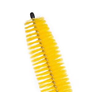 Image 5 - Beler – roue jaune pour pneus, 1 pièce, moyeu de jante, brosse longue, poignée de lavage, outil de lavage pour voiture, véhicule, moto