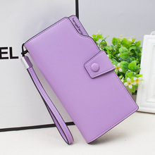 Ladies Wallet Top Quality PU Leather Wallet Women Long Fashi