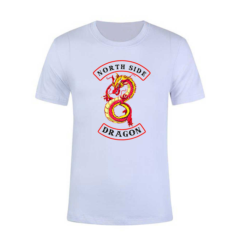 Stefan janoski New Riverdale T shirt South Side Serpents white black funny anime women o neck short sleeves streetwear Tshirts