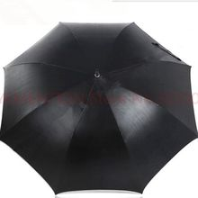 unbreakable self-defense golf car umbrellas double carbon fiberglass Taiwan Formosa anti-uv black coating outdoor parasol