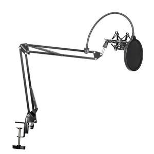 Neewer Mount-Kit Scissor Mic-Clip-Holder Windscreen-Shield Arm-Stand Microphone Table-Mounting-Clamp
