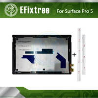 Full NEW Original LCD +Touch Screen Digitizer Panel LP123WQ1(SP)(A2) For Microsoft Surface Pro 5 (1796) Display Adhesive Strip