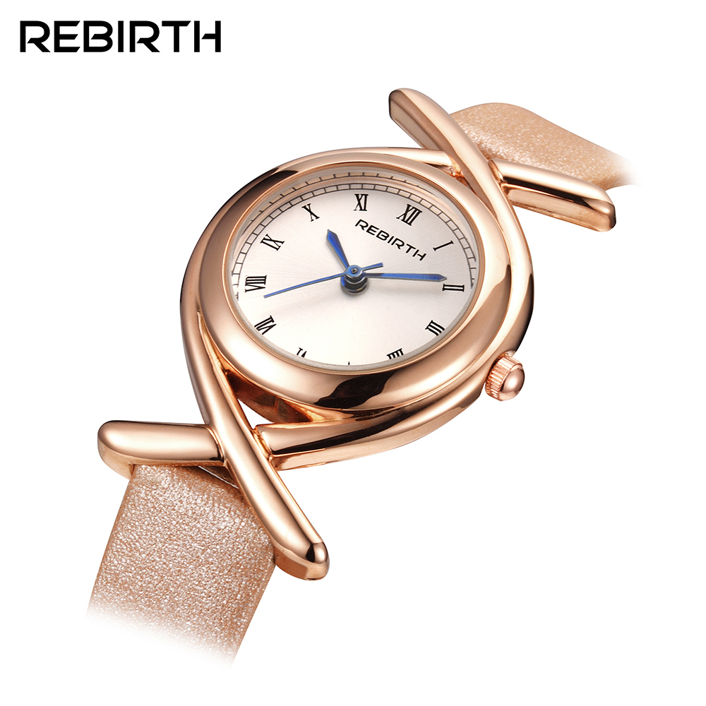 REBIRTH Fashion Wrist Watch Women Watches Ladies Luxury Brand Famous Quartz Watch Female Clock Relogio Feminino Montre Femme top brand rebirth women quartz watch lady luxury fashion dress clock classic female wristwatch women gift relogio feminino