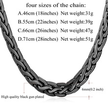 Collare Snake Link Chain For Men