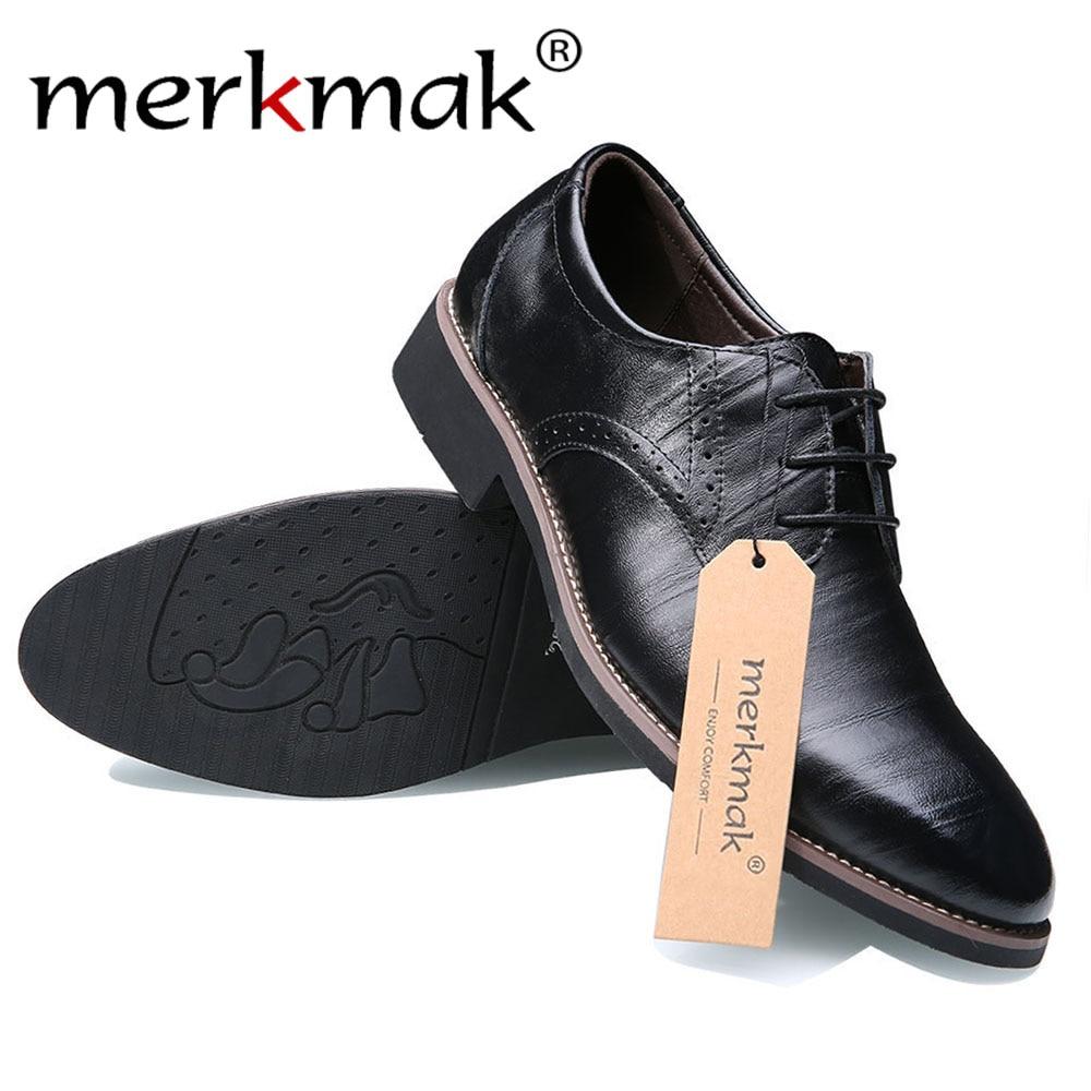 Dropshiping nero scarpe marrone Flats chiare in sposa scarpe 37 affari moda 48 casual pelle abito Oxfords a Top Merkmak uomo scuro punta Size maschile scarpe scarpe scarpe blu formale Big viola da qB4n1S