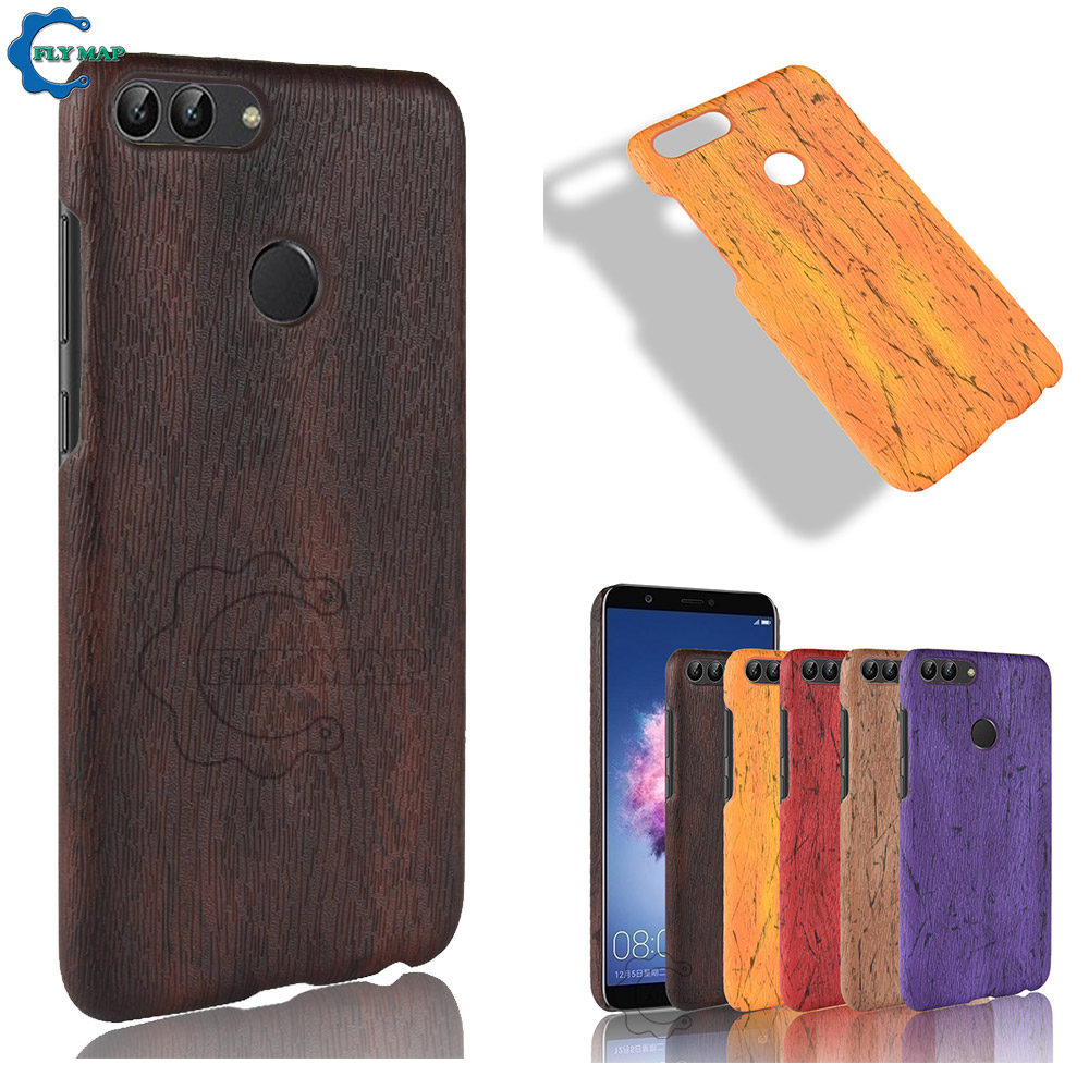 Tree bark Case for Huawei P Smart FIG-LX1 FIG-LA1 Hard PC Protective Phone Cover Shell Coque for Huawei PSmart FIG LX1 LA1 Case