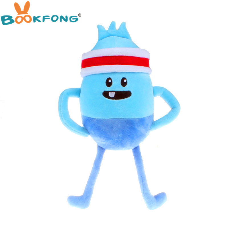 BOOKFONG 32CM Cute Australia TV Dumb Ways To Die Plush Toy Cartoon Stuffed Plush Animals Doll Toy Kids Educational Toys plush ocean creatures plush penguin doll cute stuffed sea simulative toys for soft baby kids birthdays gifts 32cm