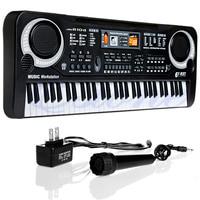 Children Electric Piano Organ 61 Keys Music Electronic Keyboard Key Board For Kids Chrismas Gift US