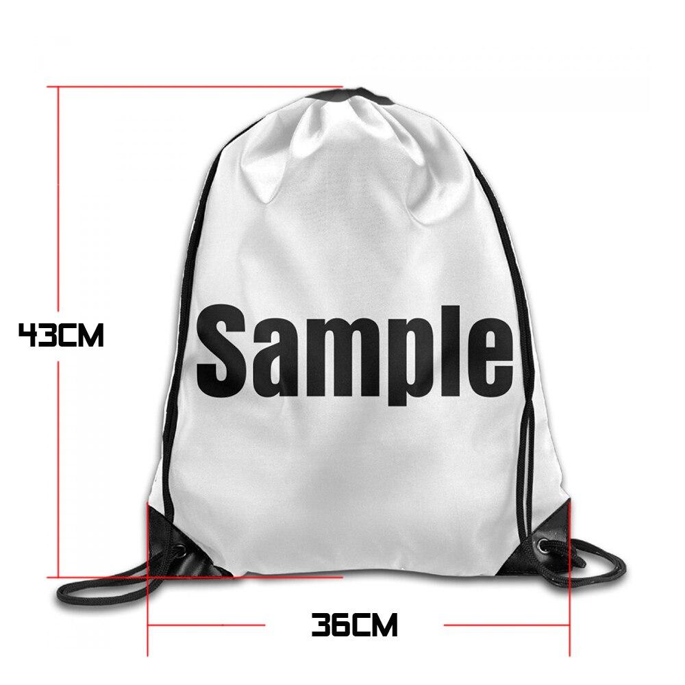 Samcustom 3d Print Owl Birds Shoulders Bag Women Fabric Backpack Girls Beam Port Drawstring Travel Shoes Dust Storage Bags #2