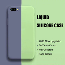 Anti-knock Case Huawei Honor View 10 Liquid Silicone Cover For View10 Lite Cute Plain Soft