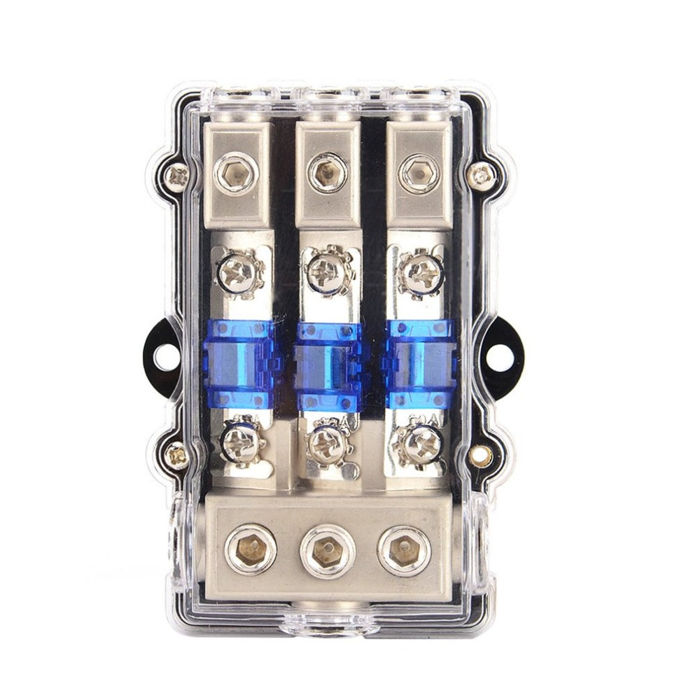 small resolution of universal car stereo audio power fuse box waterproof blade fuse holder block high performance auto boat fuse box for car in fuses from automobiles