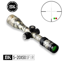 цена на Bobcat King Optics BK 5-20X50 SFIR camouflage appearance tactical optical sight sniper hunting rifle aiming air gun riflescope