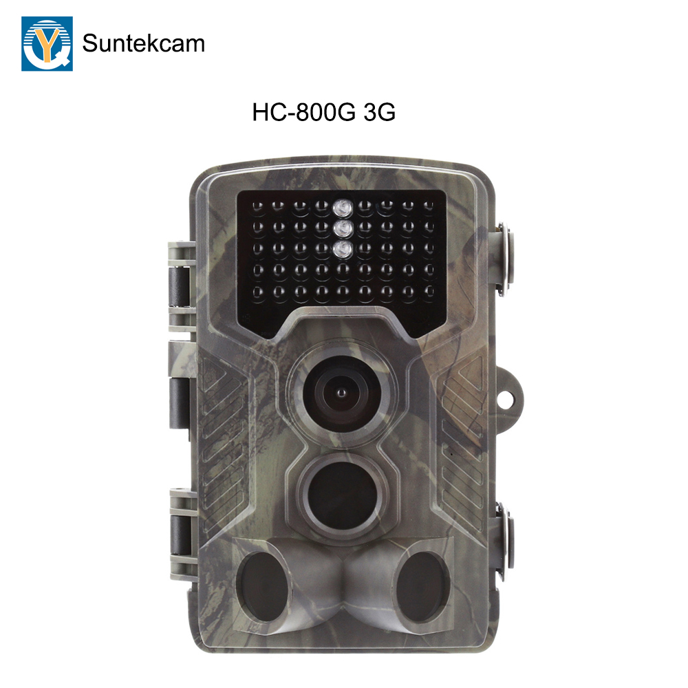 Trap Trail Hunting Camera Suntekcam HC800G Scouting 3G 0.3s Trigger 16MP Game Photo IP65 Waterproof Wild Cameras animalTrap Trail Hunting Camera Suntekcam HC800G Scouting 3G 0.3s Trigger 16MP Game Photo IP65 Waterproof Wild Cameras animal