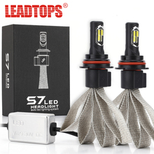 1Set 72W H4 9004 9003 9007 Led Car Headlight Driving Lamp Bulb Car External Lights 8000LM Fog Head Light Carro Levou Farol CF