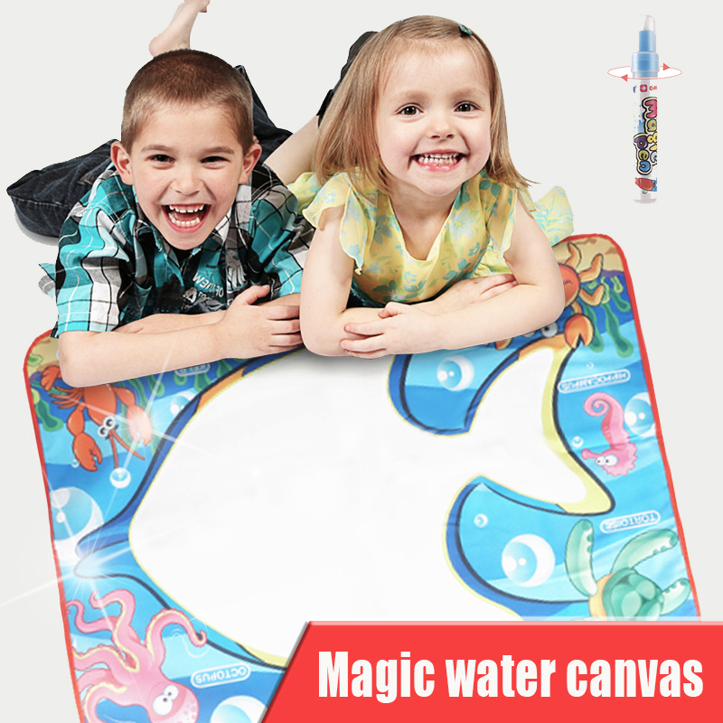 Magic Water Drawing Picture Kids Drawing Picture With Magic Pen Baby Educational Doodle Painting Board Coloring Drawing Toys
