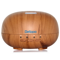 Delippo 300ml Cool Mist Diffuser Humidifier Ultrasonic Aroma Essential Oil Diffuser Aromatherapy For Office Home Bedroom