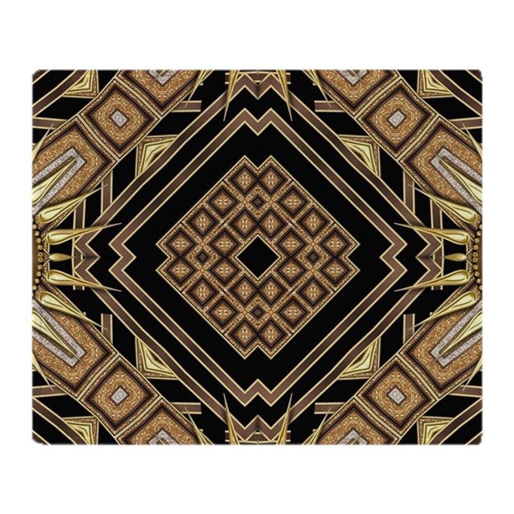 Art Déco Noir Or 1 Doux Molleton Couverture Jette Polaire Couverture Manta Coberto Pour Canapé/Lit/Voiture/bureau
