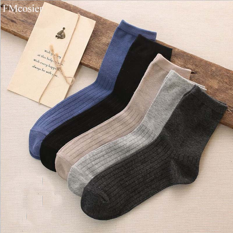 10 Pairs New Fashion Spring Summer Men Cotton Socks Short Formal Funny Man Male Weed Mens Dress Socks sokken mannen Blue Black