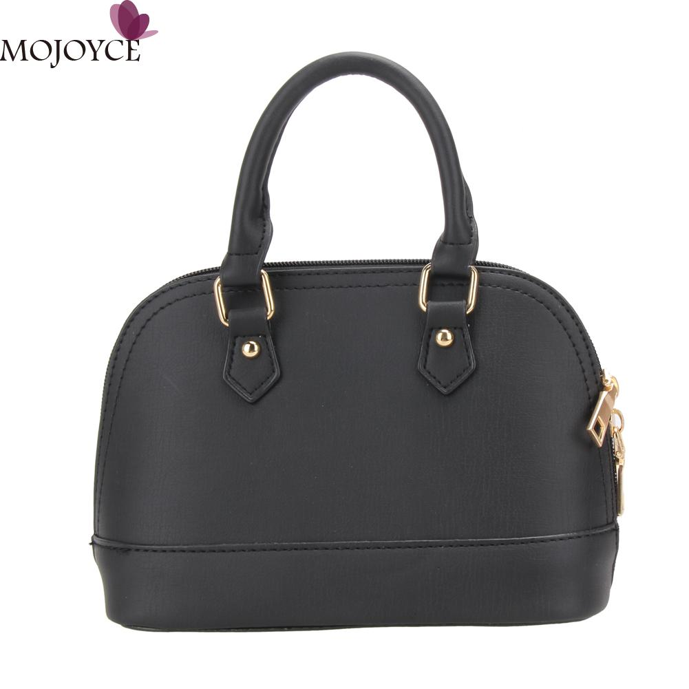 ba5ff6e327f40 New Women Fashion PU Leather Shell Handbag Tote Mini Ladies Shoulder Bag  Crossbody Bag About color: 1.All product images were taken in kind.