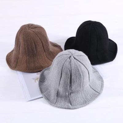 2018 nouveau Été Solide Plat Chic Seau Chapeau avec Bowknot Femmes Vintage Rue Pêcheur Caps Panama Soleil Chapeaux Chapeau En Plein Air 1240