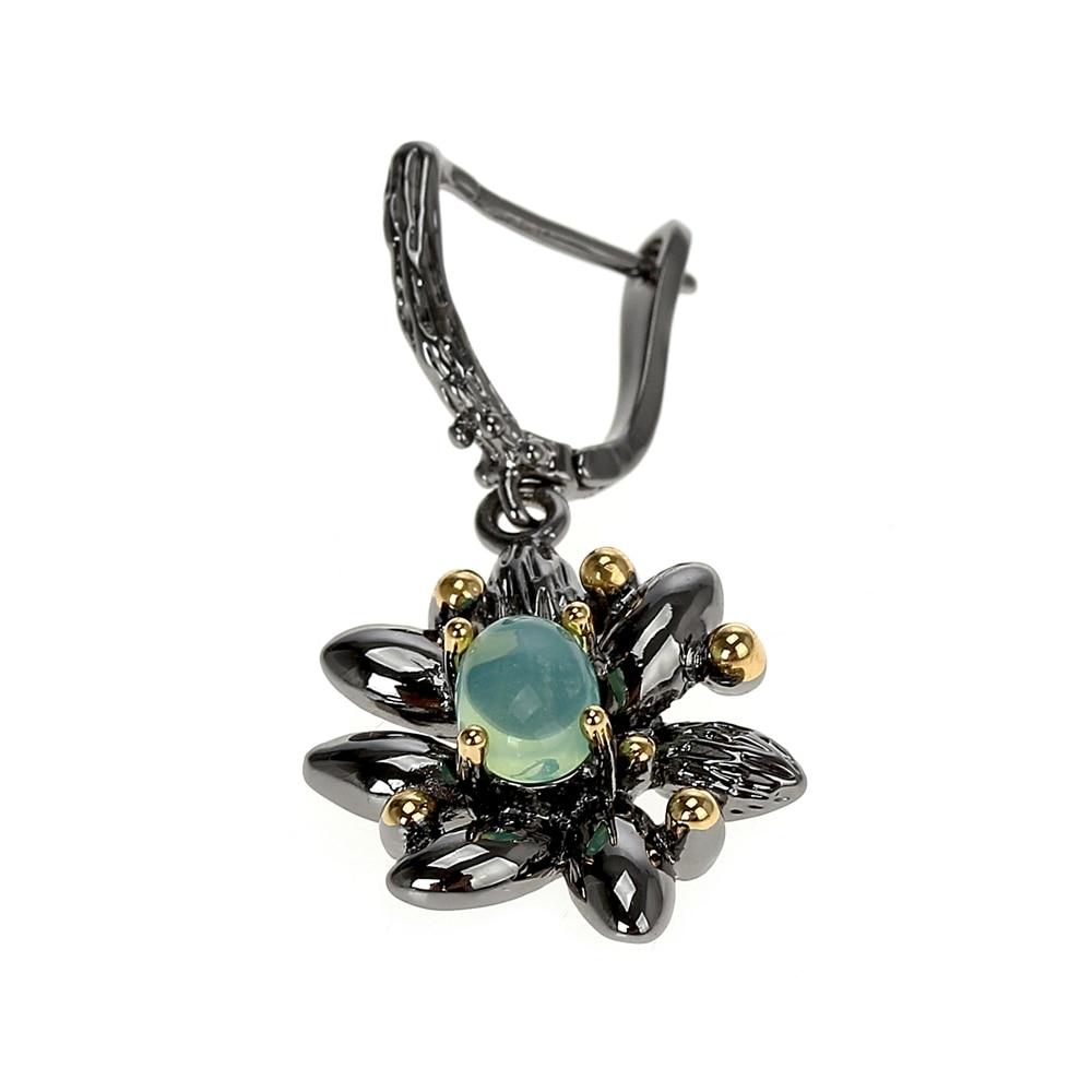 WE3890 opal stone earrings vintage gothic jewelry women (6)