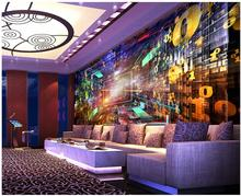 3d wallpaper custom photo non-woven mural 3d wall murals wallpaper for living room Science fiction digital KTV bar painting