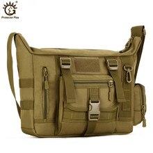 14 Inch Laptop Shoulder School Bag Ultra-light Hunting Fishing Men Messenger Crossbody Tactical Military Bags V52