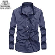 11 Color Choose Business Casual Men Shirts Long Sleeve 100% Cotton Camisa Masculina Hawaiian Shirt Linen Slim FIt Mens Clothing