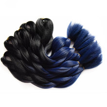 Extensions Blue Hair jumbo