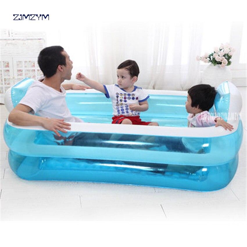Baignoire adulte portative de PVC de beauté de l'eau se pliant la baignoire gonflable sûre et écologique épaisse Non toxique NA15210860 - 4