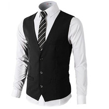 Men's suits waistcoat leisure occasio birthday party waistcoat high quality customized wedding the groom vest
