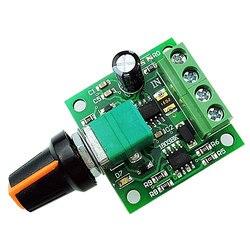 1 개 DC 1.8 볼트 3 볼트 5 볼트 6 볼트 12 볼트 2A 낮은 전압 모터 속도 컨트롤러 PWM 높은 품질