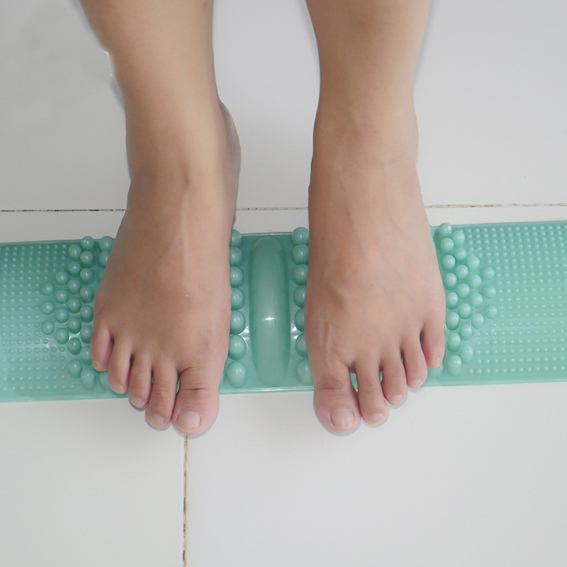 Acupressure Pad Massager Foot Mat Massage Shiatsu Sheet Acupoint Reflexology Blood Circulation